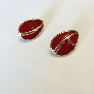 Vintage Signed Napier L earrings